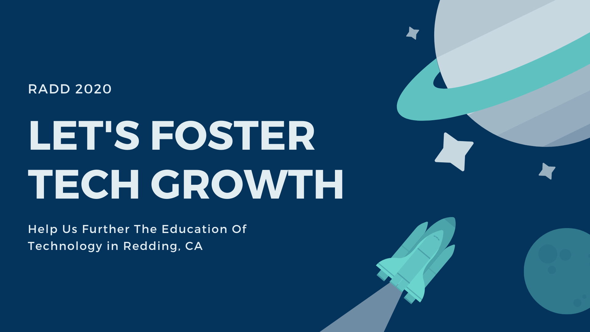 Let's foster tech growth